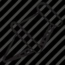 pushpin, paper pin, noticeboard pin, stationery item, thumbtack