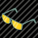 eyesight, fashion, frame, isometric, lens, object, spectacles