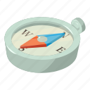 arrow, compass, direction, isometric, object, orientation, travel