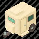 home, house, isometric, object, road, transportation, wheel