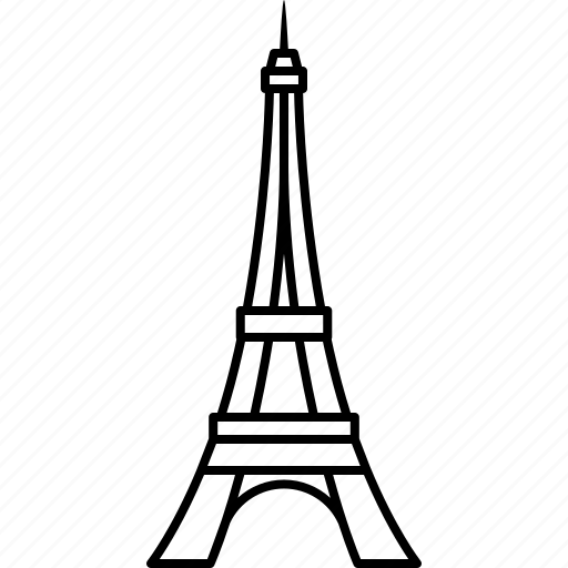 eiffel, eiffle, france, landmark, paris, tour, tower icon