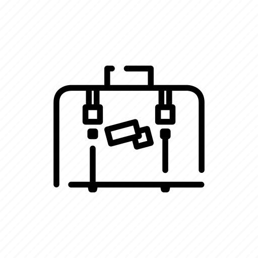 bags, luggage, suitcase icon