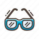beach, glasses, summer, sun, sunglasses, wear icon