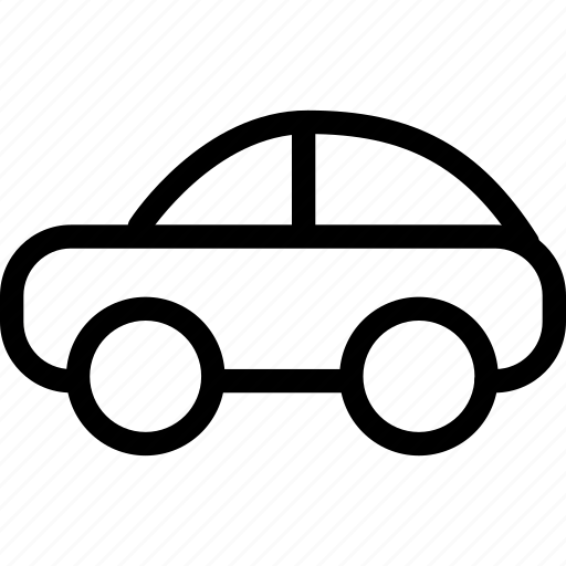 auto, automobile, car icon