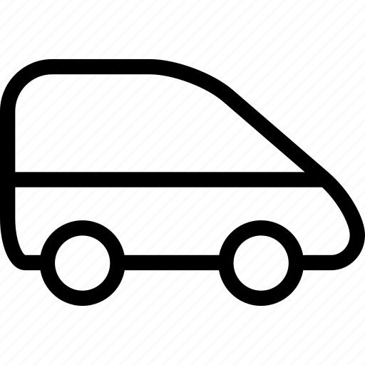 auto, automobile, car, van icon