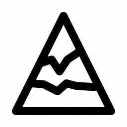 climb, hill, hotel, journey, mountain, travel, trip icon