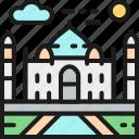 india, landmark, landmarks, mahal, statue, taj, world