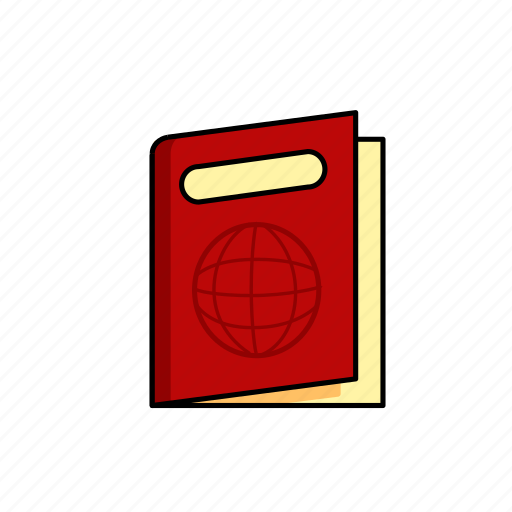 Identity, pass, passport, person, tourist, travel icon - Download on Iconfinder