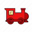 locomotive, railway, train, transport, vehicle icon