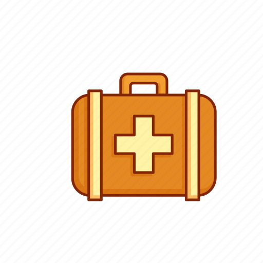first aid, health, kit, medical, medicine icon
