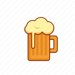 beer, brew, glass, hops, ipa, pint icon