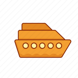 boat, cruise, ship, transport, vehicle, vessel icon