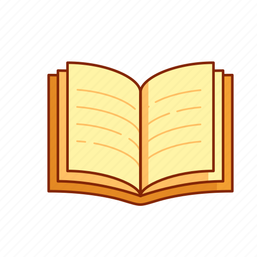 knowledge, learn, library, note book, novel, open, read icon