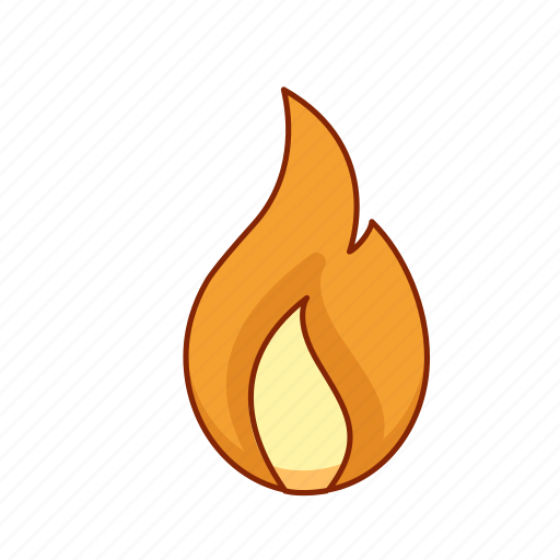 burning, fire, flame, heat, hot icon