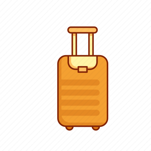 baggage, luggage, suitcase, tourist, travel icon