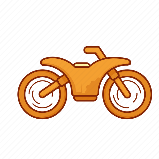 dirt bike, motorbike, motorcycle, transport, vehicle icon