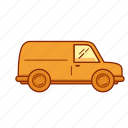 auto, car, drive, transport, van, vehicle icon