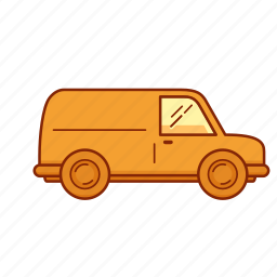 auto, car, drive, transport, van, vehicle icon