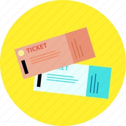 airplane, holiday, tickets, travel, trip, vacation icon