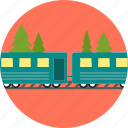 train, transport, transportation, travel, vacation icon