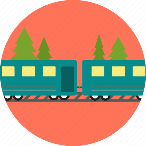 train, transport, transportation, travel, vacation icon