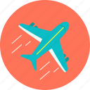 aircraft, airport, aviation, flight, journey, plane, vacation icon