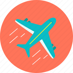 aircraft, airport, aviation, flight, journey, plane, vacation icon