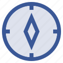 compass, gps, navigate, navigation icon