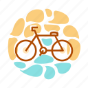 bicycle, bike, cycling, exercise, sport, transport, travel, vehicle icon