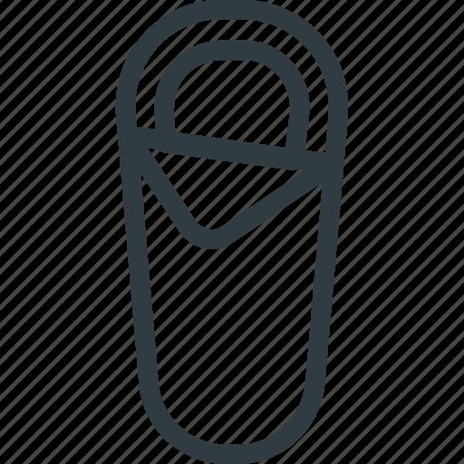 Bag, sleeping, tourism, travel icon - Download on Iconfinder