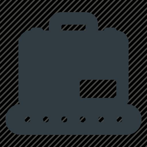 bag, case, conveyor, tourism, travel icon