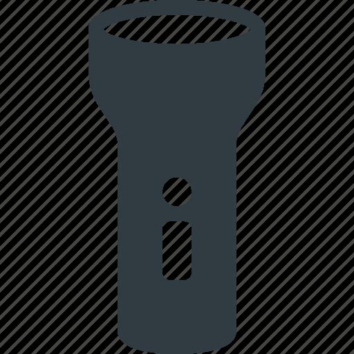 camping, flashlight, lamp, light, tourism, travel icon