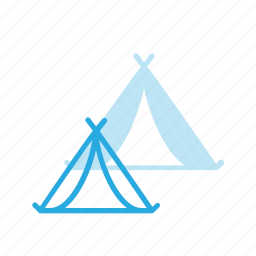 camp, camping, tent, tourism, travel icon