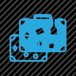 bag, case, suitcase, tourism, travel icon