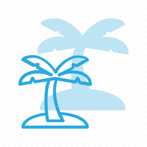 exotic, palm, tourism, travel, tree, tropical icon