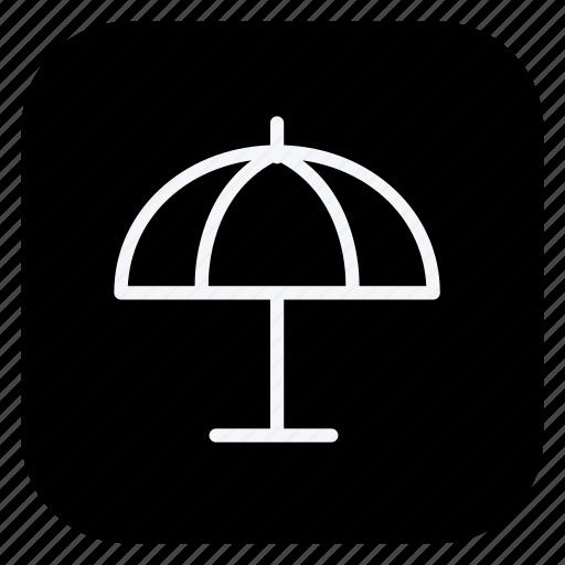 holiday, outdoor, sunumbrella, tourism, trip, umbrella, vacation icon