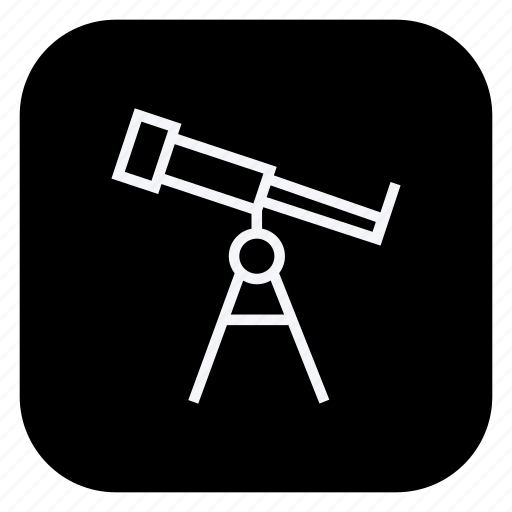 holiday, outdoor, telescope, tourism, travel, trip, vacation icon