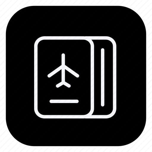 holiday, outdoor, passport, tourism, travel, trip, vacation icon