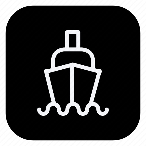 boat, cargo, holiday, ship, tourism, travel, vacation icon