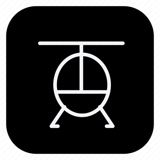 helicopter, holiday, outdoor, tourism, travel, trip, vacation icon