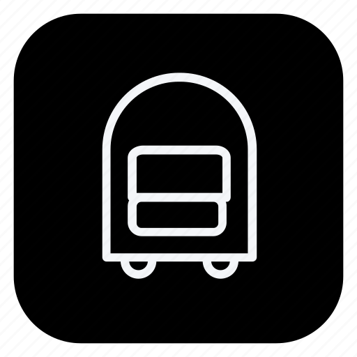 carrier, holiday, tourism, travel, trip, trolly, vacation icon
