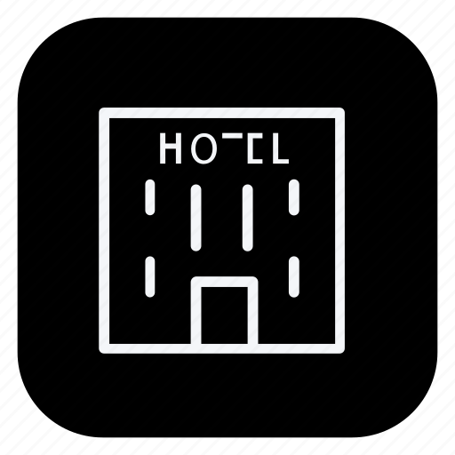 holiday, hotel, outdoor, tourism, travel, trip, vacation icon