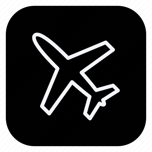 airplane, holiday, outdoor, tourism, travel, trip, vacation icon