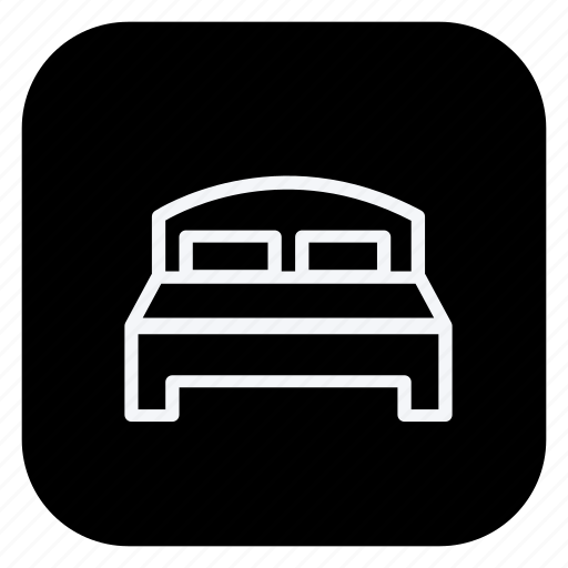 bed, holiday, outdoor, tourism, travel, trip, vacation icon