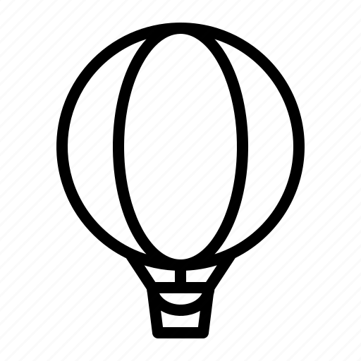 air, balloon, travel, vacation icon