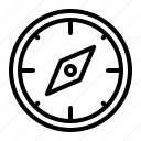 compass, direction, gps, navigation icon