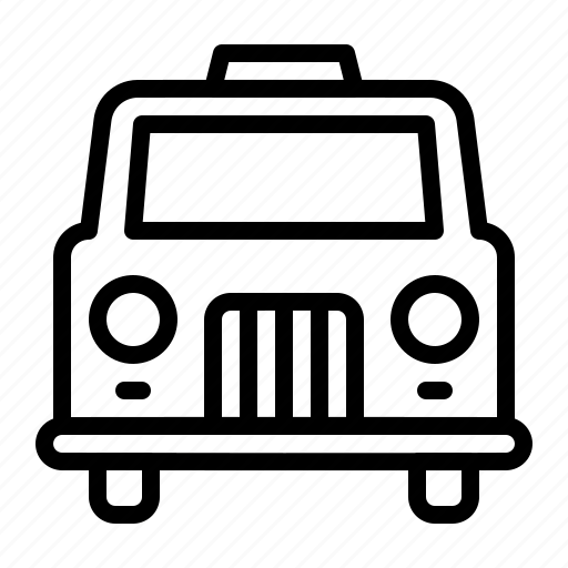 car, taxi, transport, transportation, travel icon