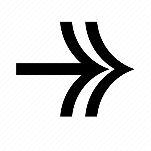 arrow, direction, line, lines, navigation, right, shape icon