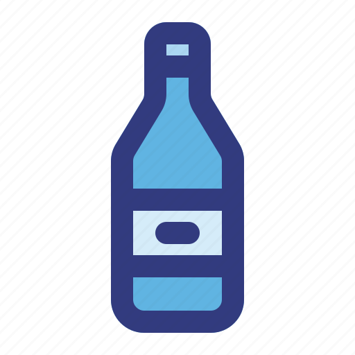 alcohol, beer, bottle, drink, oil, water, wine icon