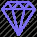 diamond, jewelry, treasure, souvenir, traveling, holiday, gem icon